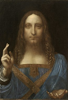 Leonardo da Vinci Salvator Mundi, c.1500